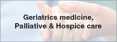 Geriatrics medicine Palliative & Hospice Care